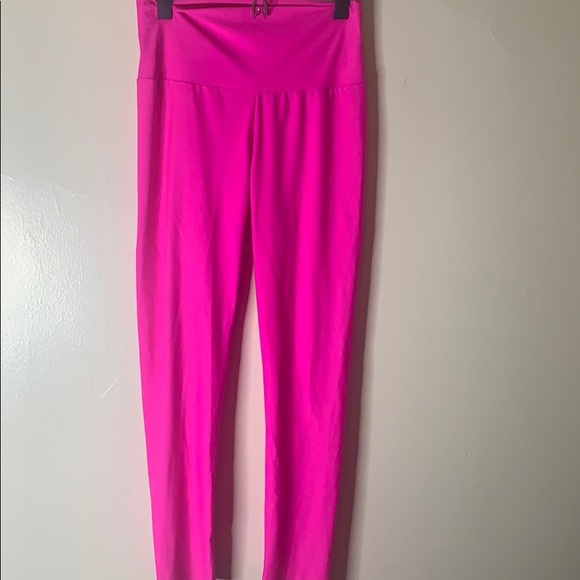 e7d035d526 Pants | Hot Neon Pink Trendy Stretchy Leggings | Poshmark